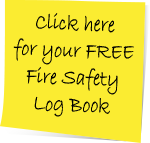 Click here for your FREE Fire Safety Log Book